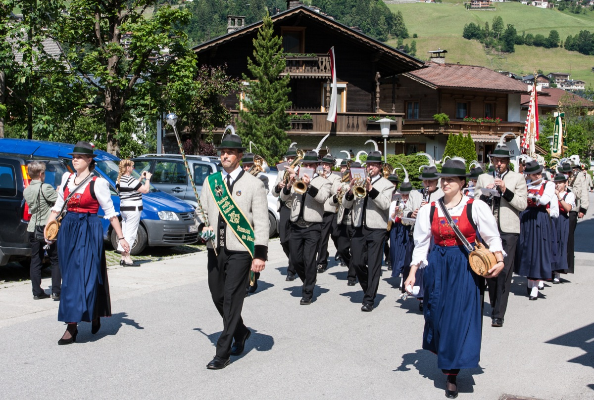 Festakt in Ramsau